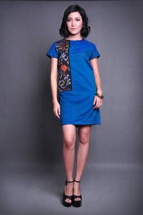20211 Meratah tenun dress sms 0817851776