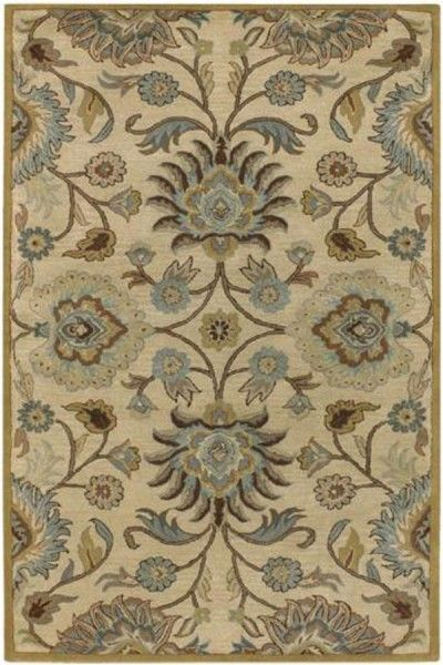 Beautiful Beige Hand Tufted Rug TTP-519