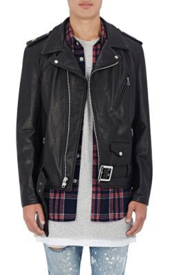 "Purpose Tour XO Barneys New York ""Purpose Tour"" Leather Moto Jacket at Barneys New York"