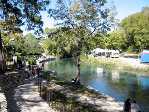 Landa Park Is A Local New Braunfels Park Located Just