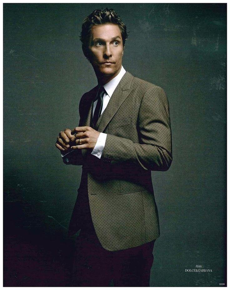 Matthew McConaughey Goes Sartorial in Dolce & Gabbana