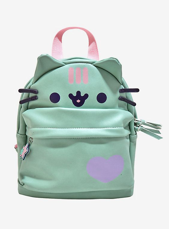 6243c7c37c1e Pusheen Mint Mini Backpack