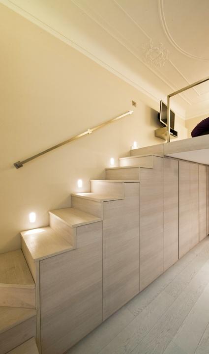 project by Andrea Castrignano _ Lighting by Buzzi & Buzzi