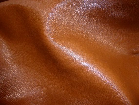 "Leather 20""x20"" Shiny Butterscotch Tan GLAZED Cowhide 2.75oz /1.1 mm PeggySueAlso?"