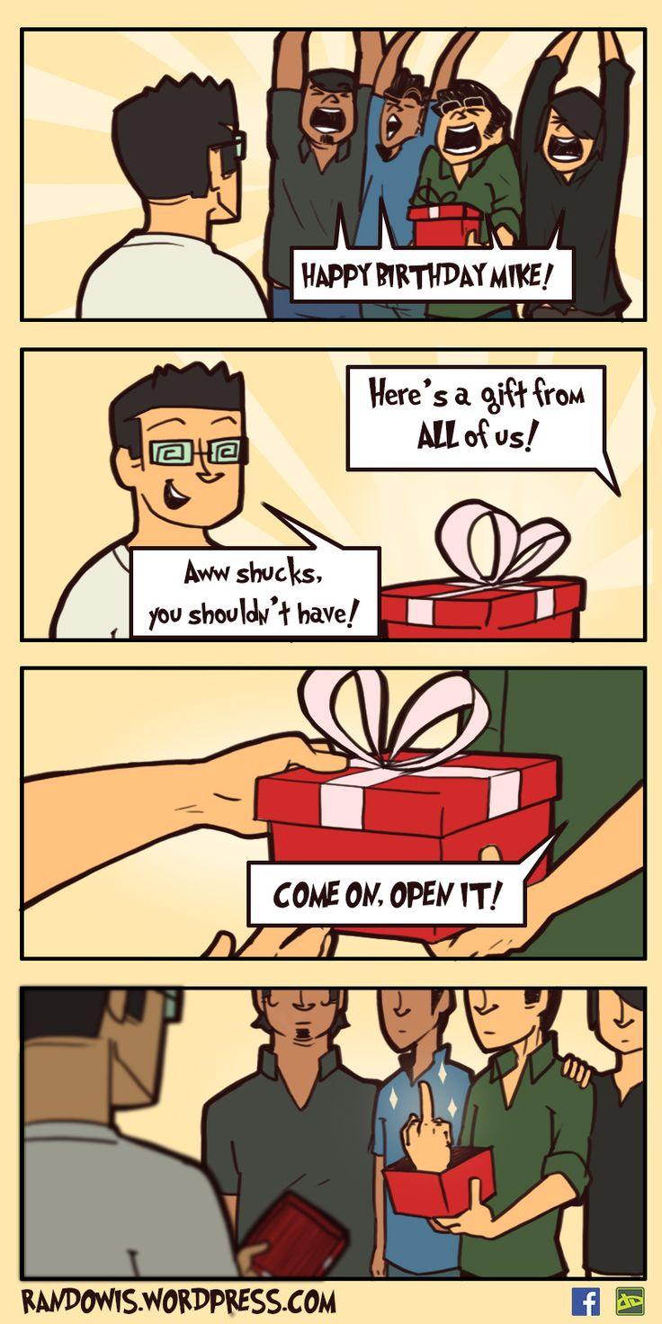 RandoWis :: Birthday Gift | Tapastic Comics
