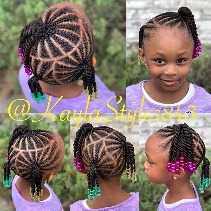 Kinder Zopfe Und Perlen Dm Mich Fur Buchungsinformationen Childrenhairstyles Buchungsinform Kids Hairstyles Toddler Braided Hairstyles Braids For Kids