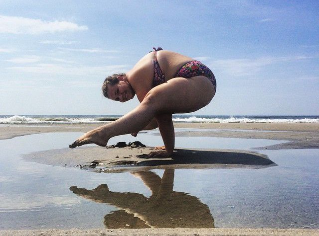 Dana was overweight and depressed–until she found yoga. Today the plus-size yogi can rock any pose and, at the same time, inspire 128K fans on social media.