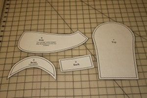 Fat Quarter Friday: Paper Boy Cap for Toddler or Young Child | Awaiting Ada