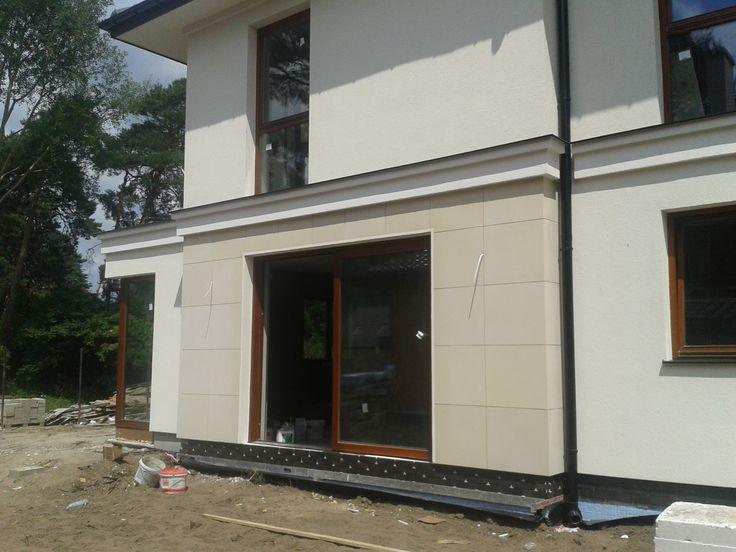 Elewacja projektu Riwiera 2 #projekt #dom #budowa