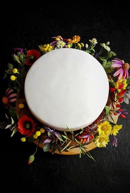 Medicinal herbs cake