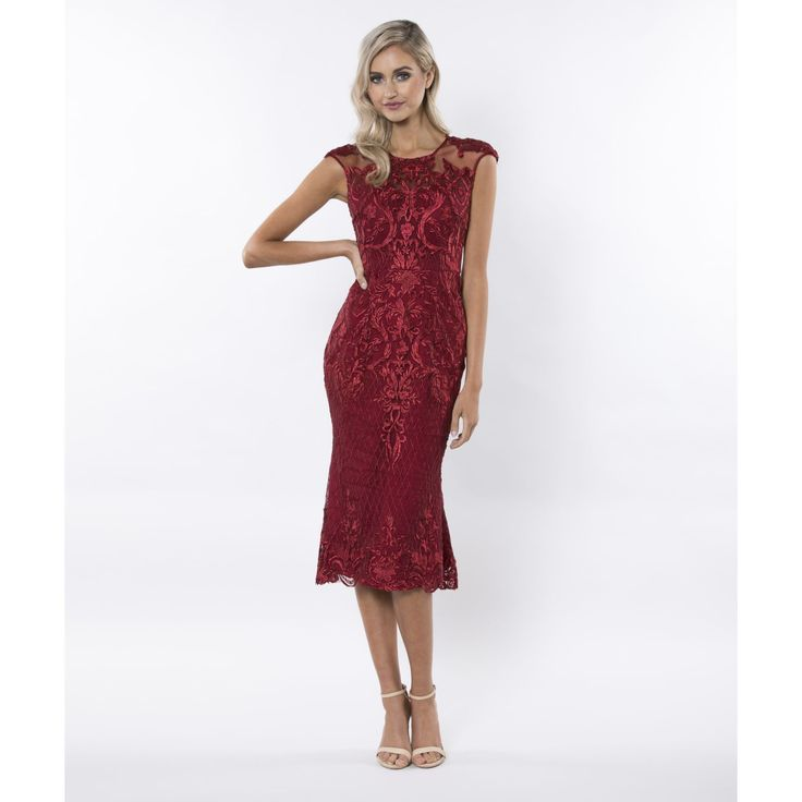 Bariano - Dancing Circles Placement Lace Midi