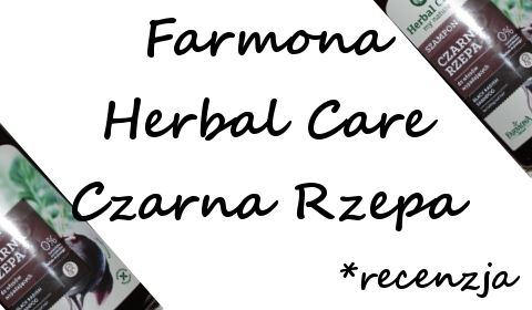 Farmona Herbal Care Szampon Czarna Rzepa | Uwolnij swoje piękno