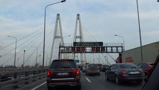 Большой Обуховский мост.