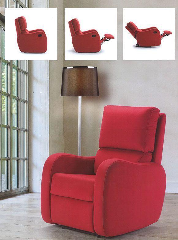 Sillón reclinable Bristol. Disfruta del mejor sillón relax y su característica reclinable. Entra y prueba sin compromiso este sillón reclinable.