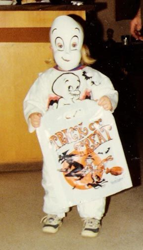 Vintage Halloween -1967... THIS was MY first costume. I wore it in kindergarten!