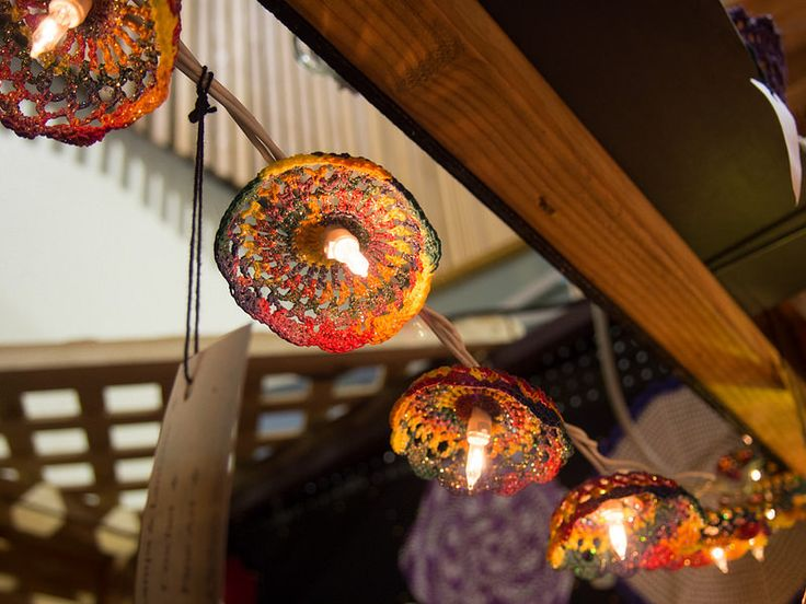 Lights and lamps by Heather Storrs, Haphazard Creativity