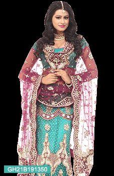 Buy Sushmita Sen Style Turquoise Anarkali Suit, Salwar Kameez Online Shopping, slsot101