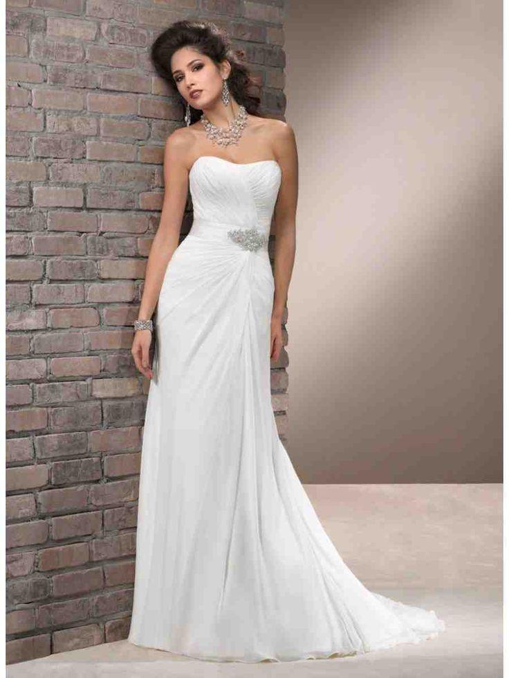 19 besten sheath wedding dresses Bilder auf Pinterest ...