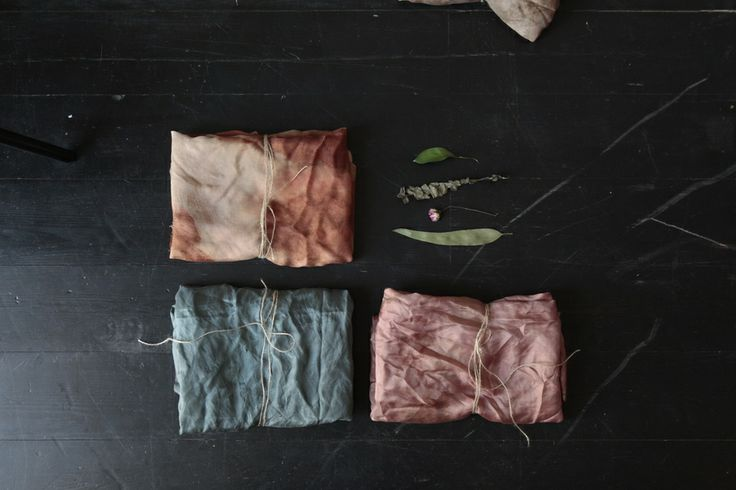 LOOK BOOK dyeing fabric