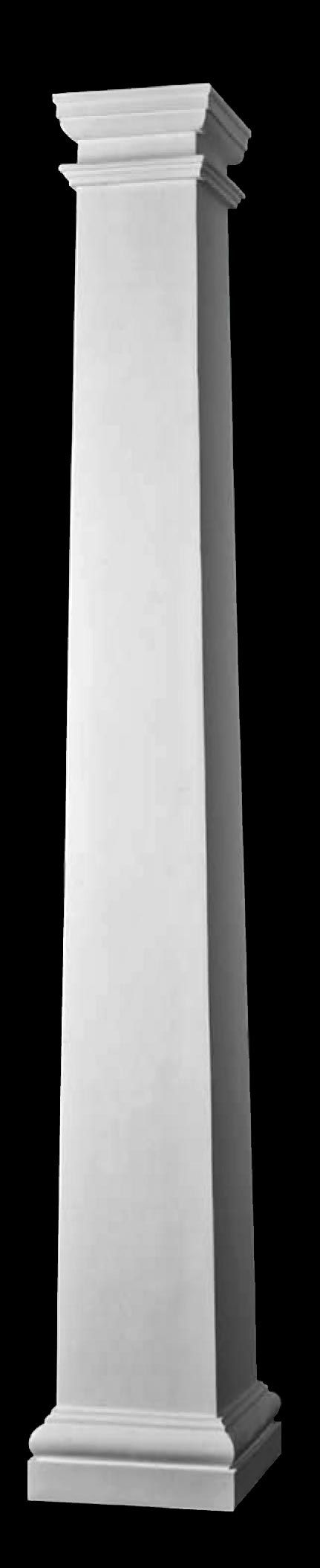 1000 ideas about composite columns on pinterest classic for Tapered columns