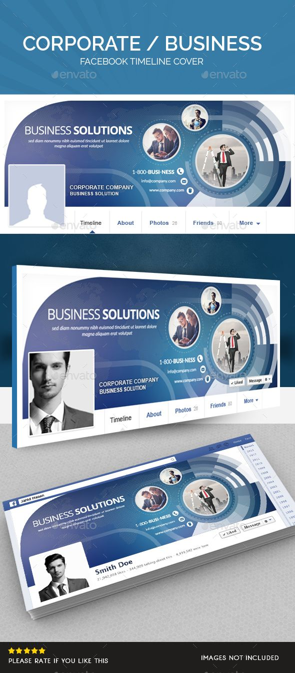 60 best facebook banner templates images on pinterest facebook corporate facebook timeline pronofoot35fo Image collections
