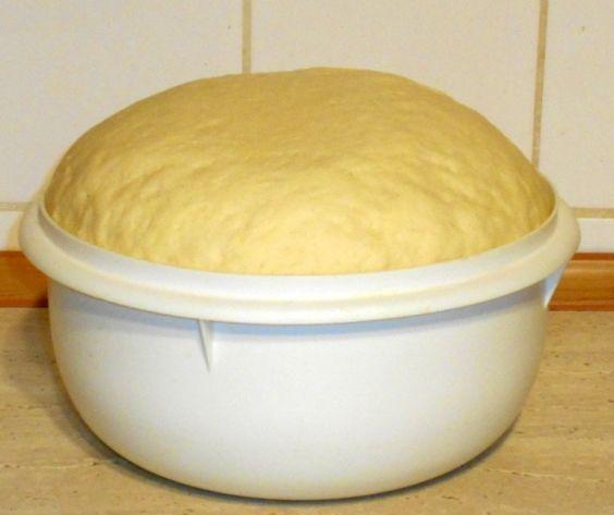 Zemiakové cesto na škvarkové pagáče, ale aj na rôzne sladké pečivo (fotorecept) - obrázok 6