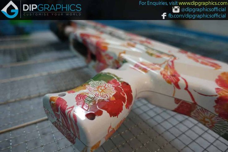 Hydro-Dipped-Zeus-2-Nerf-Blaster-in-Floral-Pattern---10
