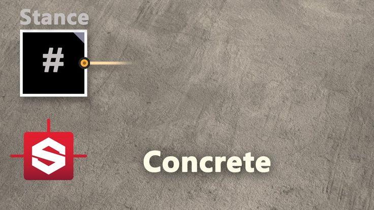 Concrete - Substance Designer Material Breakdown