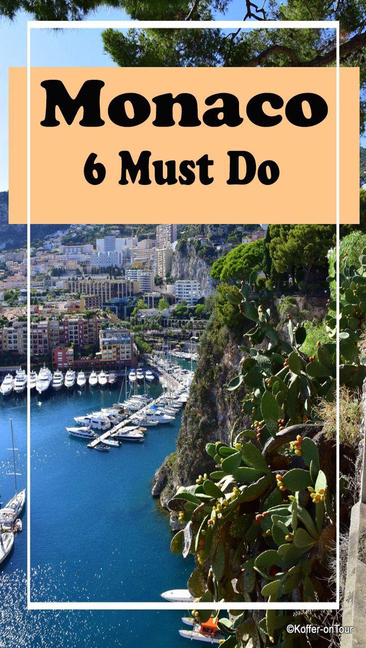 Monaco Der Zweitkleinste Staat Der Welt Monaco Reisen Frankreich Urlaub