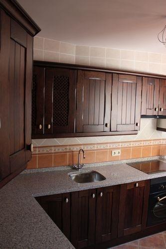 Dise o de cocinas dise o de cocinas en chinchon madera - Disenos de cocinas de madera ...