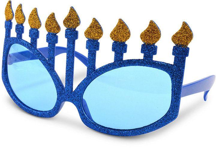 Celebrate Shop Menorah Novelty Sunglasses, Created for Macy's