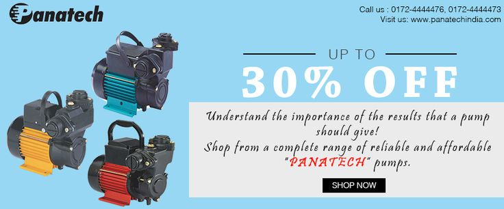 Shop from a complete range of reliable and affordable #PanatechPumps.  goo.gl/mQXmgv