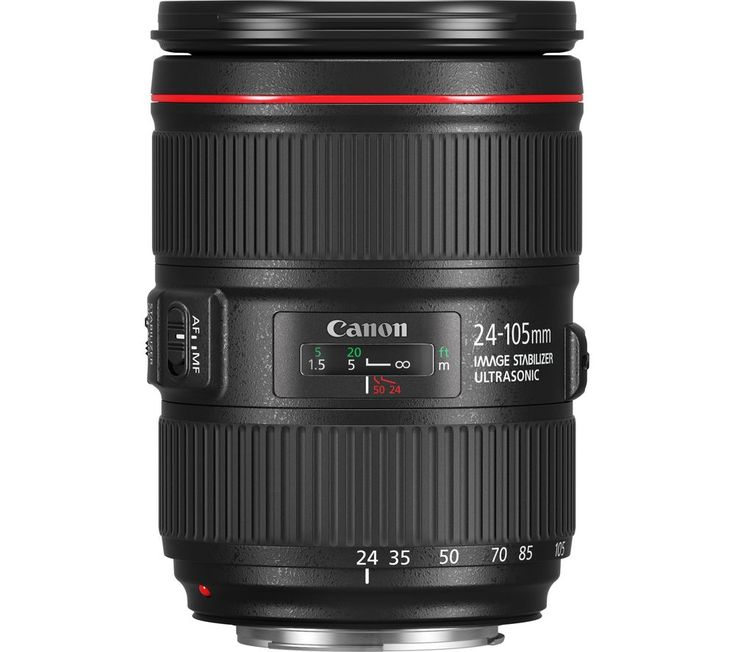 Buy CANON  EF 24-105 mm f/4 L II USM Standard Zoom Lens Price: £1065.00 Top features: - Versatile capabilities for shooting film or photography - Advanced elements for quality imagery in low light - Reliable image stabilisation for reduced image blur Versatile capabilities Whether you're shooting photography or video, the Canon EF 24-105 mm f/4 L II USM Standard Zoom Lens is ideal for...