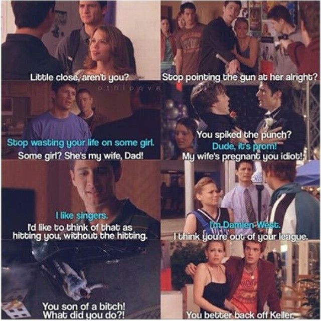 What's your favorite Nathan protecting Haley scene?  I love them all. I also like the one where Dan refers to Haley as is ex wife and he corrects him my saying she's still his wife. #naley #oth #onetreehill  Credit:@othloove