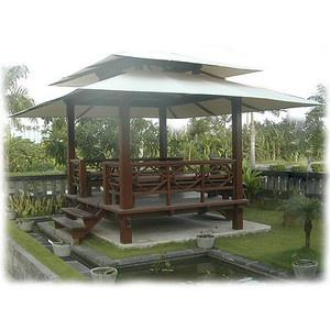 Balinese garden structure