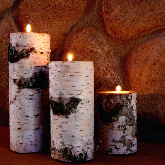 best 25 log candle holders ideas on pinterest logs