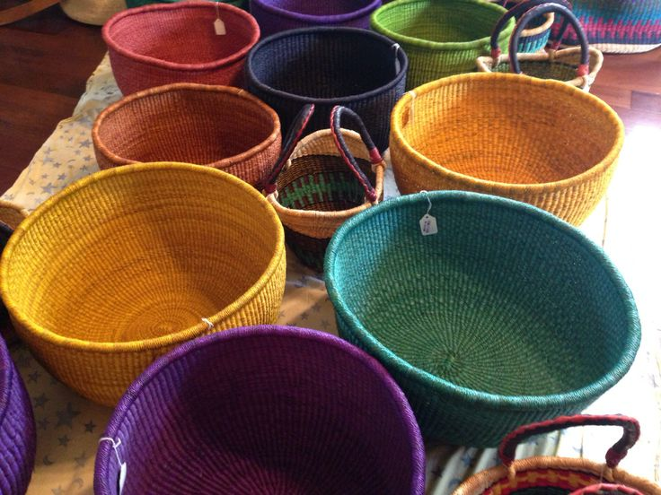 weavers of Baba Tree Basket Company—sisal bowls - Blog | Three Bags Full Knit Shop - Vancouver