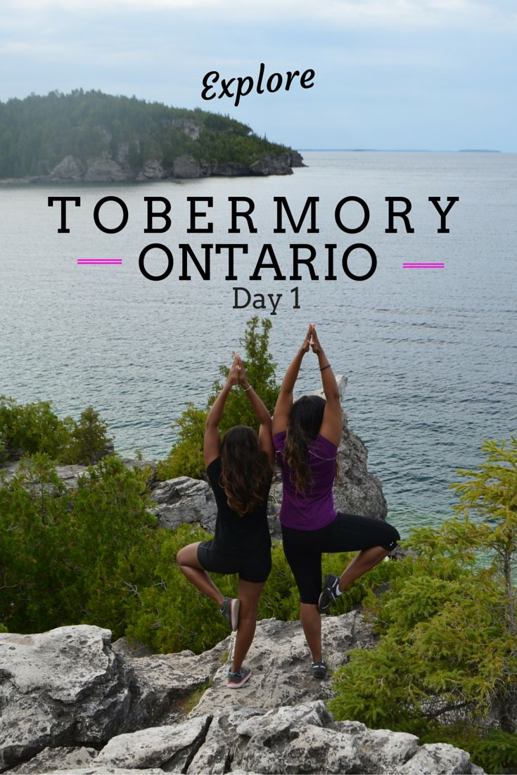 Things to do in Tobermory, Ontario near the Bruce Peninsula.