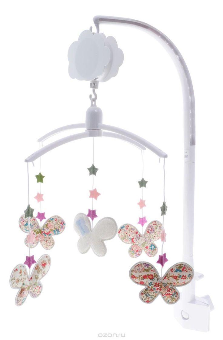 Купить Trousselier Музыкальный мобиль Бабочки - детские товары Trousselier в интернет-магазине OZON.ru, цена trousselier музыкальный мобиль бабочки