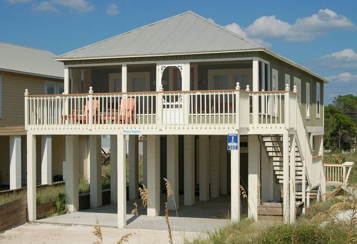 Barefoot Bungalow Gulf Side Vacation Rental That Sleeps