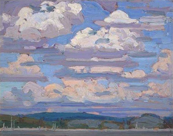 Summer Clouds - Tom Thomson