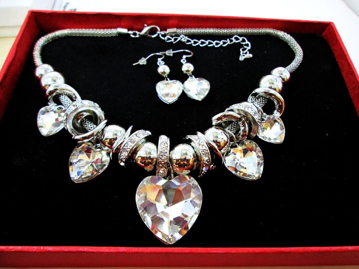 A personal favorite from my Etsy shop https://www.etsy.com/ca/listing/273658972/big-bold-sparkle-silver-crystal-heart
