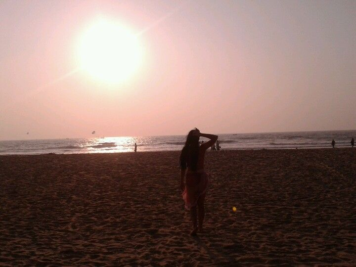 Baga Beach in Marmagao, Goa