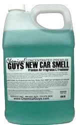 $18.95 air freshener new car smell    this actually exists. Esquire mag approves. dilute with water, one spray, and lasts for weeks!