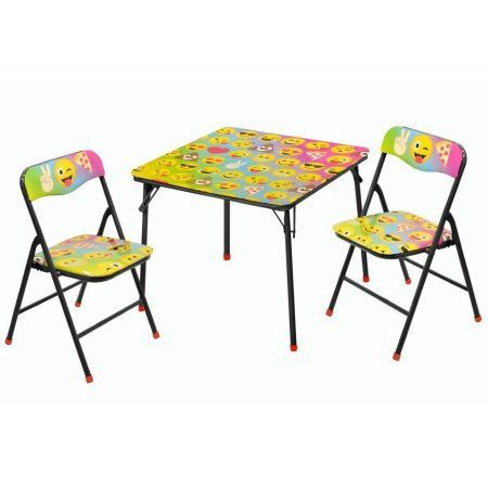 Emoji 3 Pc Table And Chair Set Products Table Chair