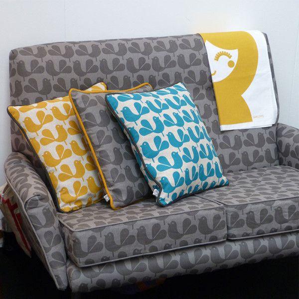 Rachel Powell's new elephant fabric