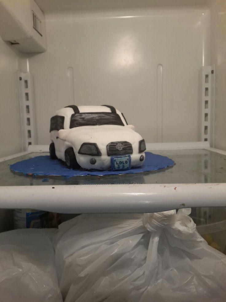 car/ van cake