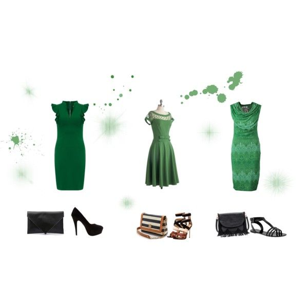 """Beauty in green"" by balsamoirene on Polyvore"