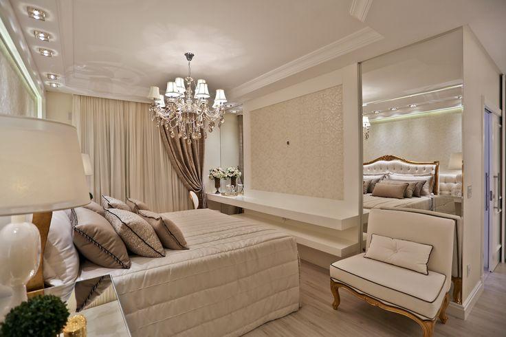 Apartamento com decoração clássica, neutra e sofisticada! Confira ideias bacanas! - Decor Salteado - Blog de Decoração e Arquitetura