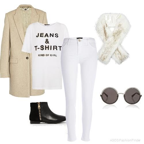 Casual white | Women's Outfit | ASOS Fashion Finder